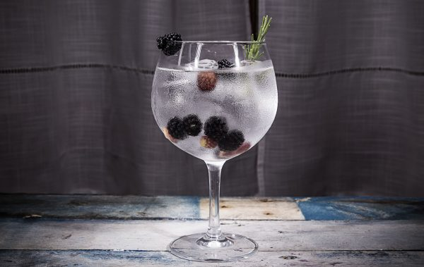 gin and blackberry