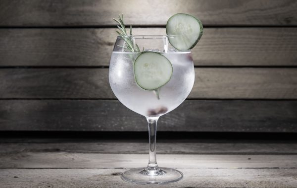 gin cucumber rosemary